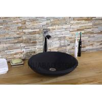 Cheap Custom Commercial  Stone Sink Basin , Stone Kitchen Sink Carved Stone Floating for sale