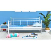 Customized Color Szie Princess Iron Bed  , Single Beds For Adults 60X40X80 CM
