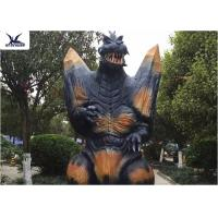 Quality 2.3 Meters Amusement Park Giant Realistic Animatronic Godzilla Statues can move wholesale