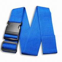 Cheap Luggage Strap/Belt, Available in Various Types and Colors, OEM Order are Welcome for sale