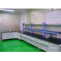 China Steel And Wood Structure Modular Laboratory Furniture List Of Lab Equipment on sale