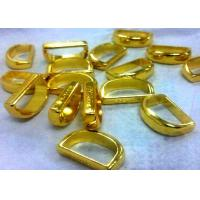 Cheap Decoration ring part Aluminium Die Casting polish and Golden plating treatment for sale