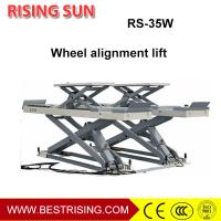 China High rise four wheel alignment used car service lift for workshop on sale