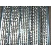 Cheap Professional High Rib Lath Mesh , Galvanized Plate High Rib Construction Join for sale