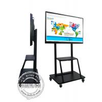 China 85 Inch 4k Big Education School Digital Tv Conference Room Interactive Flat Board For Video Meeting on sale