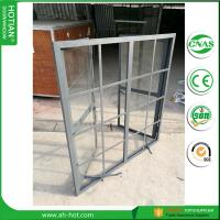 Buy cheap CE approved burglar proof steel fixed windows with grids from China supplier from wholesalers