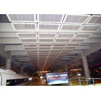 Buy cheap Interior Galvanized Iron Wire Expanded Metal Mesh Ceiling , Powder Coating Suspended Metal Ceiling Tiles from wholesalers