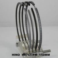 Cheap 110mm Ranger SD Truck Engine Piston Ring Set Hino H07CT 13019-1340A ( cyl ) Parts for sale