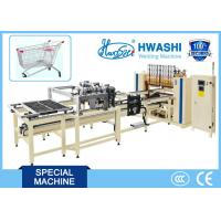 Buy cheap HWASHI Multi-point Spot Wire Mesh Welding Machine for Supermarket Shelf from wholesalers