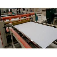 China Automatic and semi automatic PVC LAMINATED GYPSUM CEILING TILES making machine and prodution line on sale