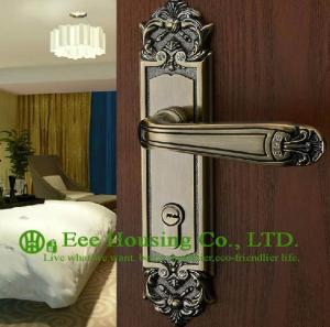 China Mortise lock for timber door,Interior Door Locks factory,Antique Brass finish,Bedroom lock on sale