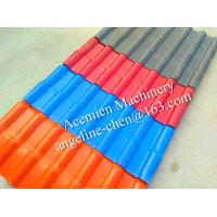 Cheap New plastic PVC colonial roofing tile roofing sheet for sale