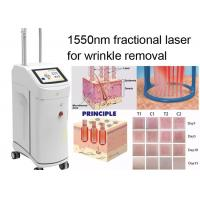 Cheap Non Ablative Wrinkle Laser Machine With 1550nm Erbium Glass Fractional Laser Technology for sale