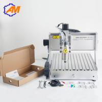 China AMAN3040 mini cnc engraving machine for advertising High efficient desktop 3d wood for homemade hobby diy enthusiasts on sale