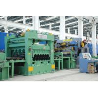 China Uncoiling Leveling Rotary Shear Cut To Length Line / Cut To Length Line 28 Tons on sale