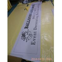 Quality Heavy Duty Personalised 1440 Dpi PVC Vinyl Banners With Eyelets wholesale