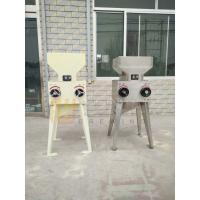 Cheap beer brewery used electric double roller malt milling machine for sale for sale