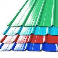 Cheap Pre - Painted Galvalume Steel Building Roof Tiles / Aluminum Roof Sheet For Warehouse for sale