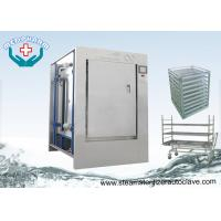 Cheap Stainless Steel 304 Pass Through Autoclave With HMI Control System for sale