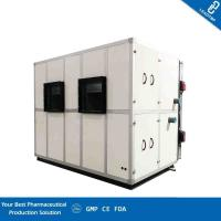 Floor Standing Type Clean Room AHU Heat Recovery Combined Supply Air Vel 12.92 M/S