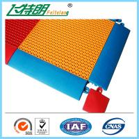 Buy cheap Synthetic Badminton Court Flooring / Anti Skid Outdoor Rubber Playground Surface from wholesalers