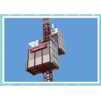 Cheap Temporary Construction Elevators Passenger And Material Hoist , Load Capacity 2000kg wholesale