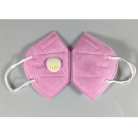 Cheap Sell Well New Type Disposable Kn95 Pink Dust Mask With Valve for sale