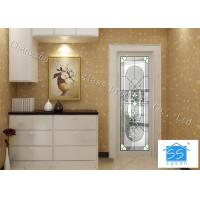 China Insulated Glass Panel For Doors , Agon Filled Privacy Oval Entry Door Glass Inserts on sale
