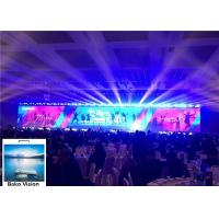 Cheap 6000 Nits Brightness Led Screen Stage Backdrop , P4.81 Video Wall Led Display IP65 for sale