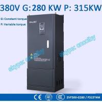 Cheap 280kw/315kw Variable-Frequency Drive G/P VFD Vector Control Transducer AC drive AC-DC-AC inverter 50Hz/60Hz frequency wholesale