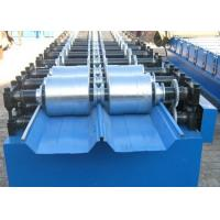 Cheap Automatic Standing Seam Metal Roof Roll Former 20 Rollers Type 820 Joint Hidden for sale