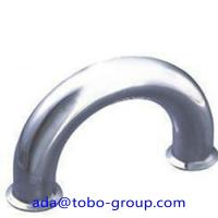 Cheap Butt Welding Pipe Fittings Carbon Steel Elbow 180 Elbow For Petroleum , Chemical for sale