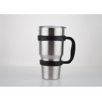 Cheap Double Wall 800ml 100x200mm Insulated Vacuum Travel Mug for sale