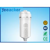 China 0.5kg High Flow Rate ABS Plastic Negative Ion Shower Water Filter With KDF Cartridge on sale
