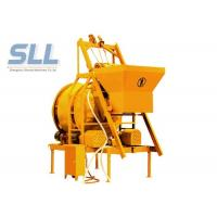 Cheap Mini Mobile Batching Plant , Mobile Concrete Mixer Machine With Bucket Lifting for sale