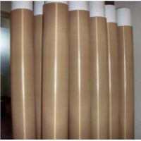 China High Temperature Ptfe Coated Glass Fibre Fabric Chemical Resistance on sale