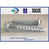Cheap ASTM Standard Hot-Dip Galvanized Spiral Spikes,screw spikes, dog spikes for sale