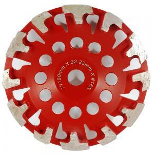 Cheap T Shape Segment Diamond Cup Grinding Wheels for Concrete floor grinding for sale