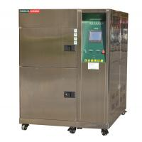 Cheap Stainless Steel 300 L 3 Zone Thermal Shock Test Chamber With Cable Port wholesale