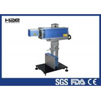 Buy cheap 10W 30W CO2 laser marking machine engrave textile fabric leather marking from wholesalers