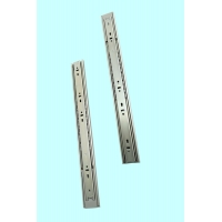 China Replacement Kitchen Cabinet Telescopic Full Extension Ball Bearing Slides on sale