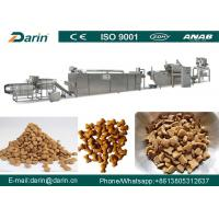 Cheap JINAN DARIN Pet Food Extruder Fish Pellet Production Line 5300 x 1100 x 2300mm for sale