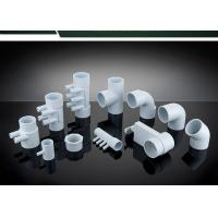 Cheap PVC Plumbing Parts Plastic Water Distribution Manifold , Tee , Elbow For Connecting wholesale