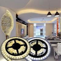 Cheap 12V Non-waterproof 5050 LED Strip Light for Home Decoration 5M 300 LEDs Warm/Cool White for sale