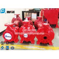 Cheap Single Stage Horizontal Centrifugal End Suction Fire Pump Set With Diesel Engine for sale