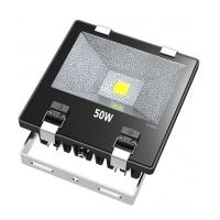 Cheap Ultra Bright 50W COB Waterproof LED Flood Lights With Tempering Glass Cover for sale