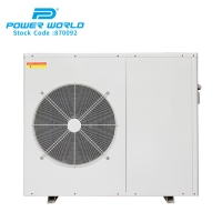 Cheap Indoor hydronic home heat exchanger Residential EVI dc inverter 12 kw heat pump air to water for sale