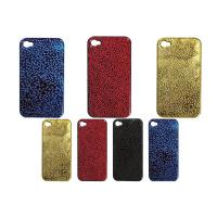 Cheap Multi-color shiny raindrop iphone protective case with hard plastic shell for iphone 4 for sale