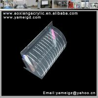 Buy cheap hand made cosmetic display brush kiosk case individual from wholesalers