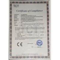 Shenzhen Vapor Tech Co.,Ltd. Certifications